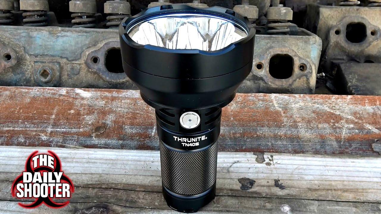 Handheld Sunlight! ThruNite TN40S Searchlight
