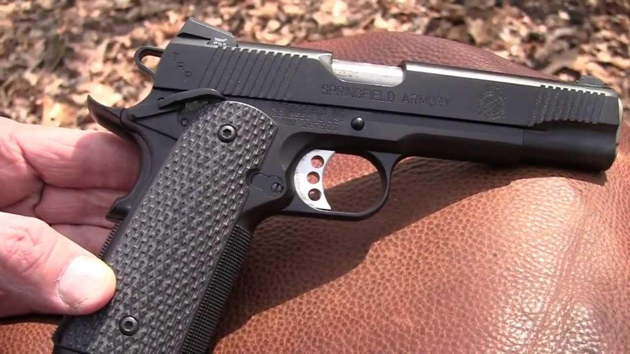Springfield Armory TRP 1911  (Close Up )