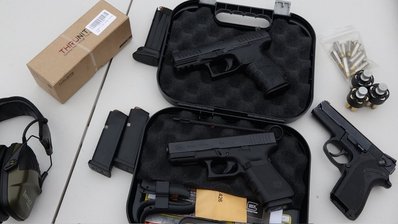Walther PPQ vs Glock 19 (HD)