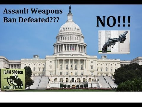 Assault Weapons Ban Defeated?? Not Yet!