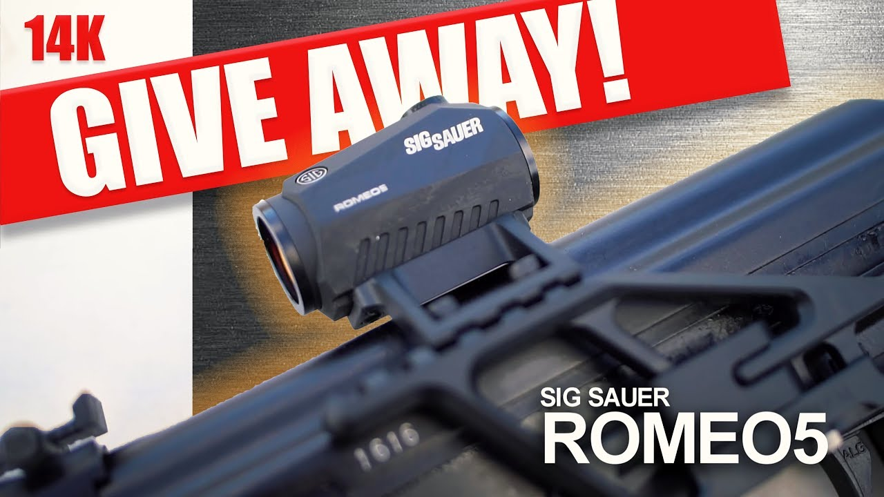 Sig Romeo 5 GIVEAWAY! (Red Dot Sight)