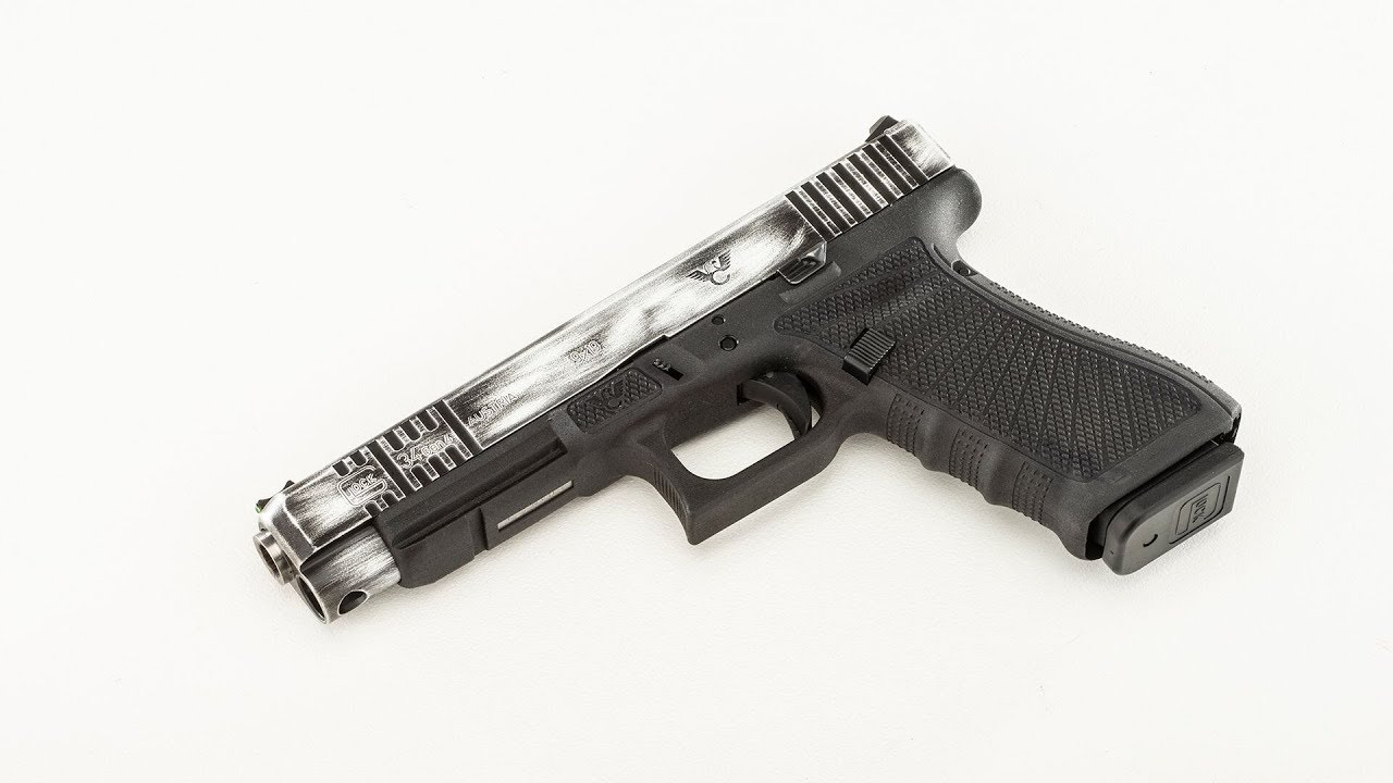 First look at the Wilson Combat Glock 34 Gen4 with Oversized Barrel