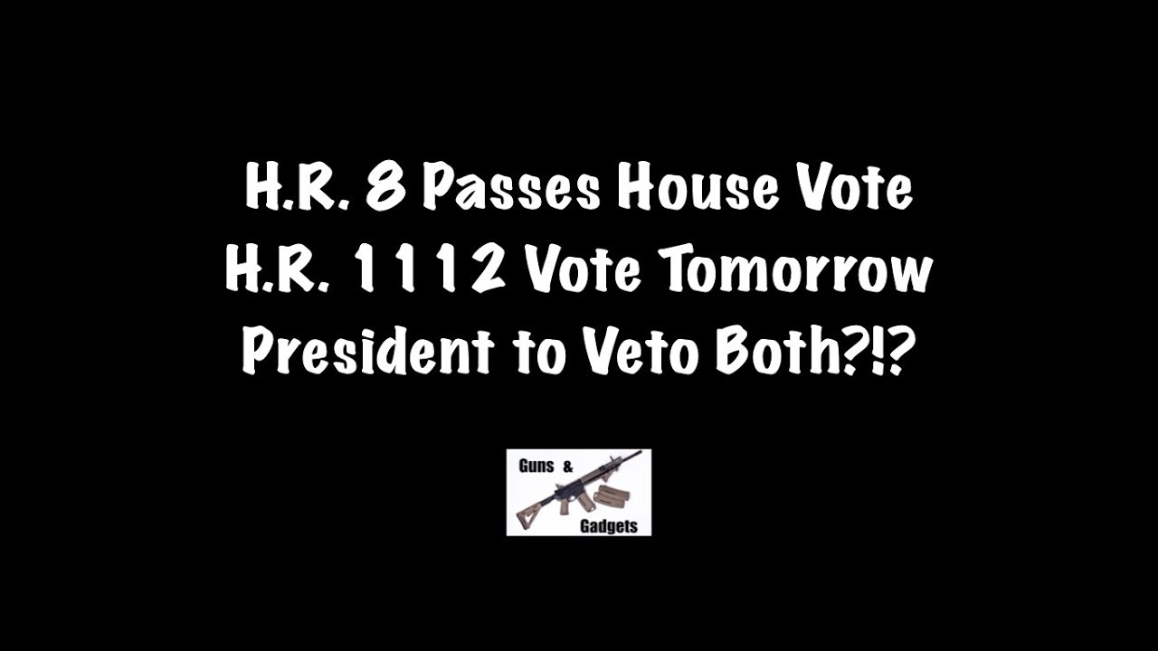 Pelosi Gun Control Passes House: President Veto In Store?