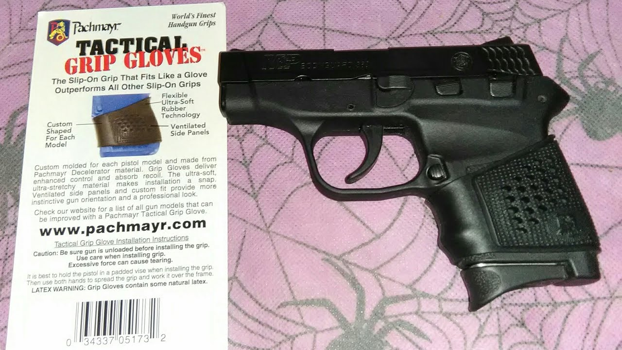 Pachmayr Tactical Grip Glove for the Smith & Wesson M&P Bodyguard .380