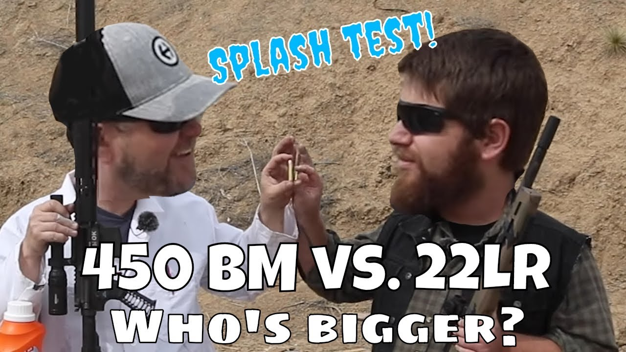 450 BM vs. 22LR - WLS Cleans up their act!