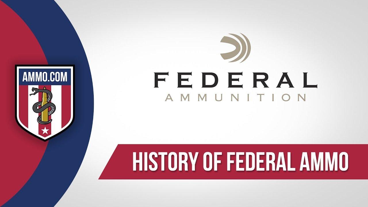 Federal Ammo - History