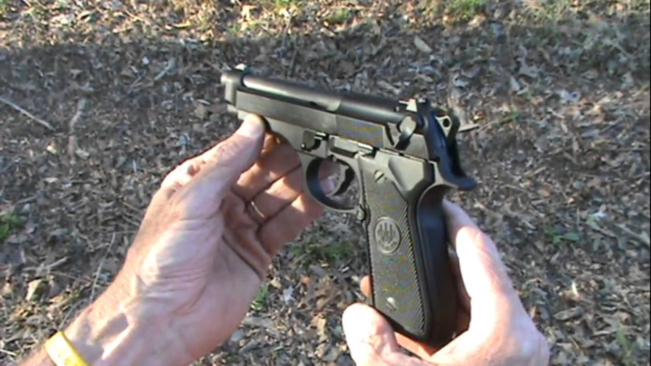 Beretta 92 FS Close Up
