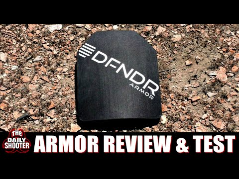 DFNDR Armor Testing & Review Best Lightweight Body Armor