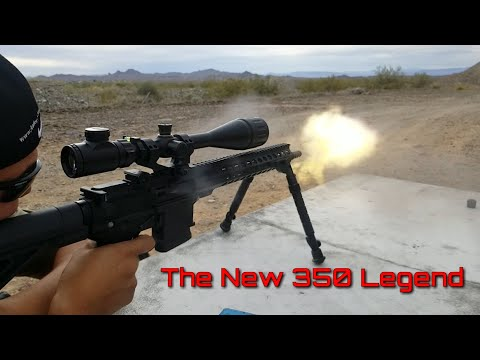 The New Winchester 350 Legend Cartridge - LIVE at The Range - Legendary or ?
