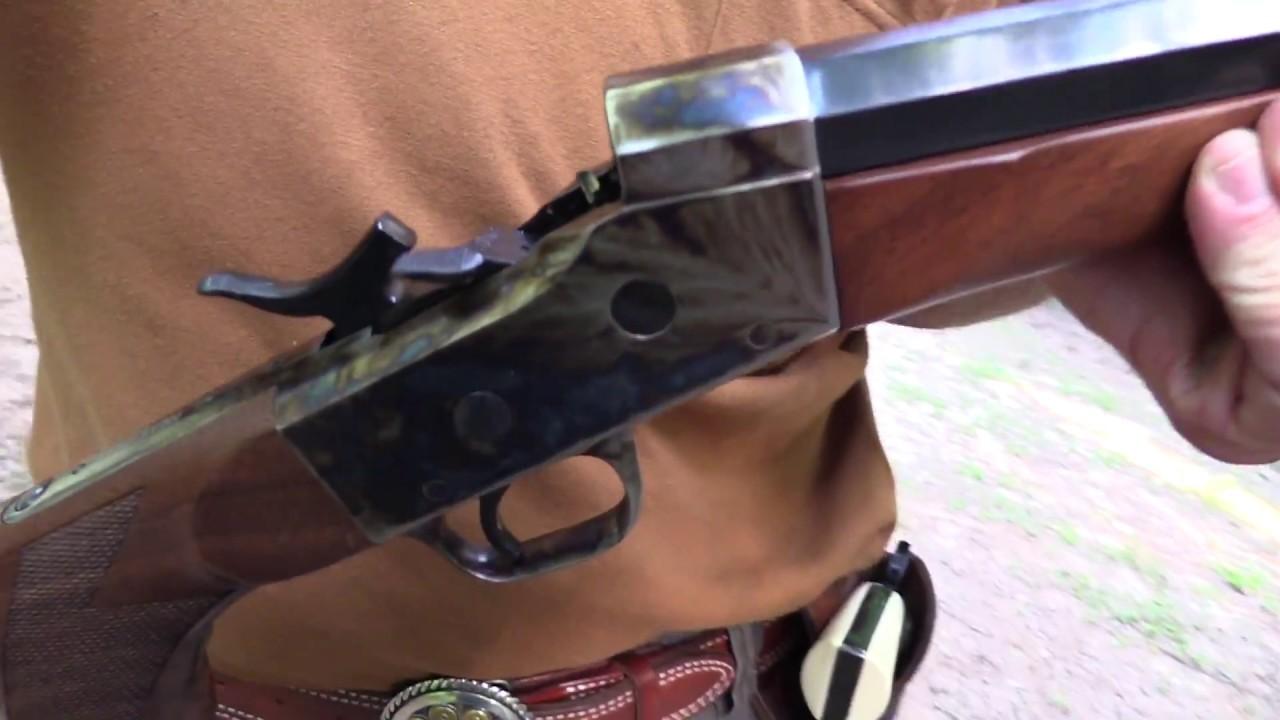 Remington Rolling Block  Uberti Reproduction Range 2
