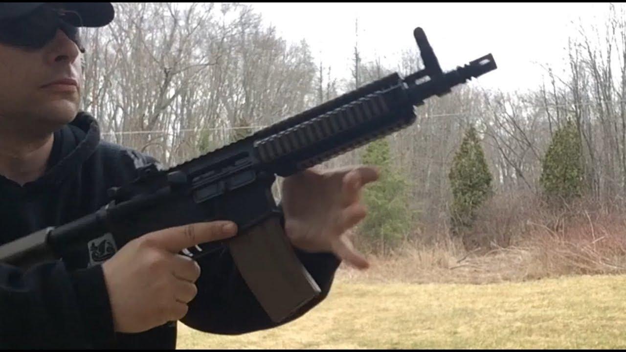 Colt LE6945CQB , Mk18 | AR Pistol Project
