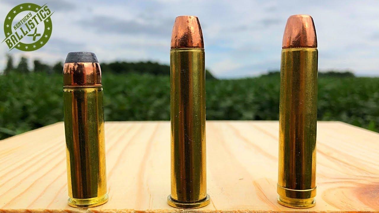 500 S&W Magnum vs 45-70 vs 450 Marlin
