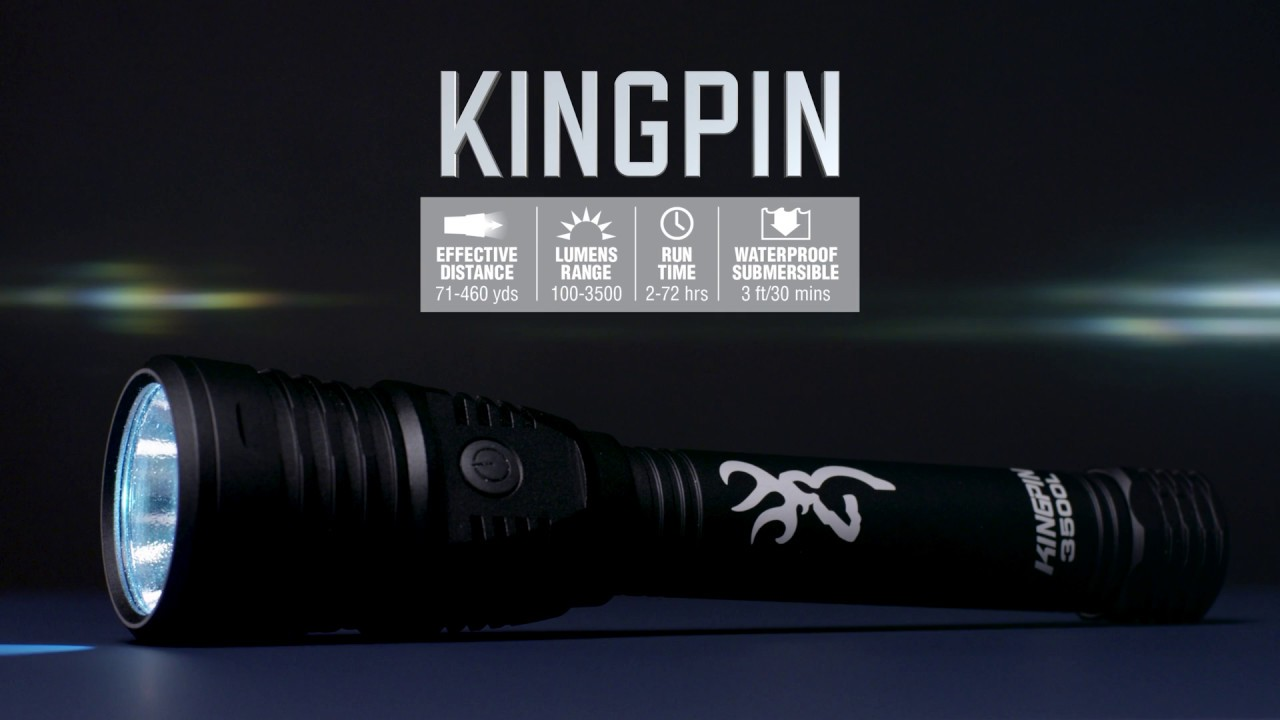Kingpin Rechargeable Flashlight