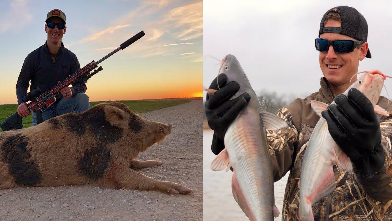 Texas Hog Hunting and Catfish Jug Fishing  | Gould Brothers VLOG