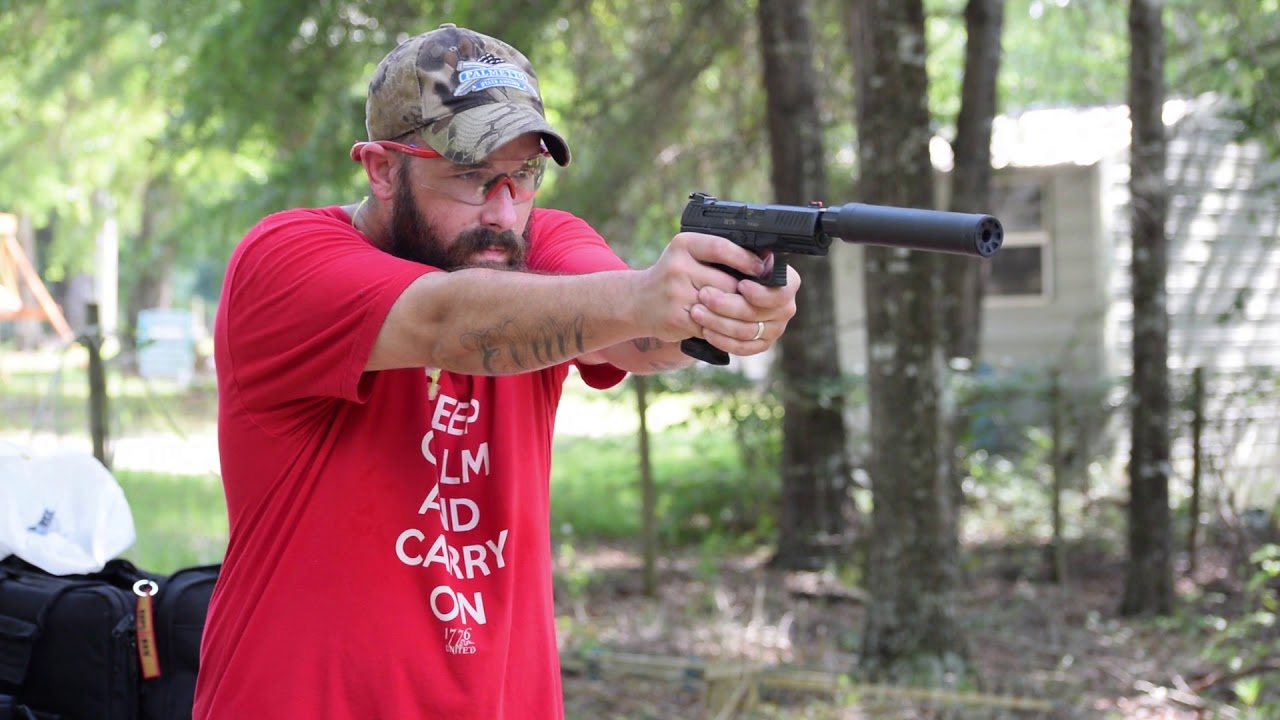 Sig SRD 9 Suppressor On The Walther PPQ Q4 Tactical