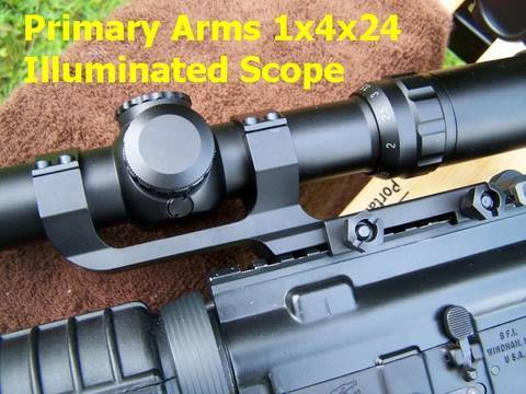 Primary Arms 1x4x24 Illuminated Scope Review