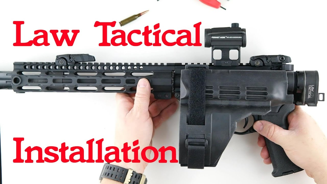 Law Tactical Folding Stock Install Gen 3