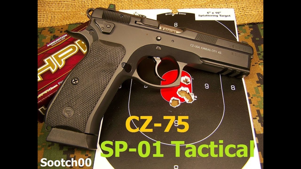 CZ 75 SP-01 Tactical 9mm Pistol