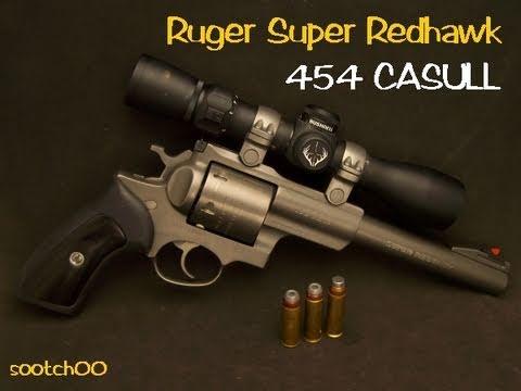 454 Casull Ruger Super Redhawk Revolver