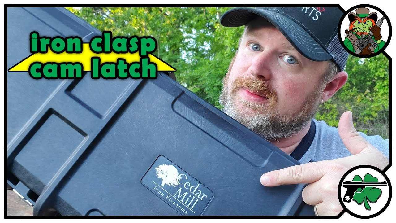 Iron Clasp Cam Latch Rifle Case Unboxing & Initial Thoughts