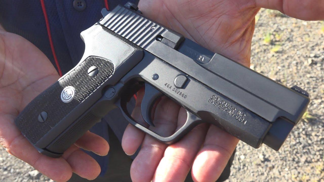 SIG Sauer P225-A1 | The Glock 43 Killer (HD)