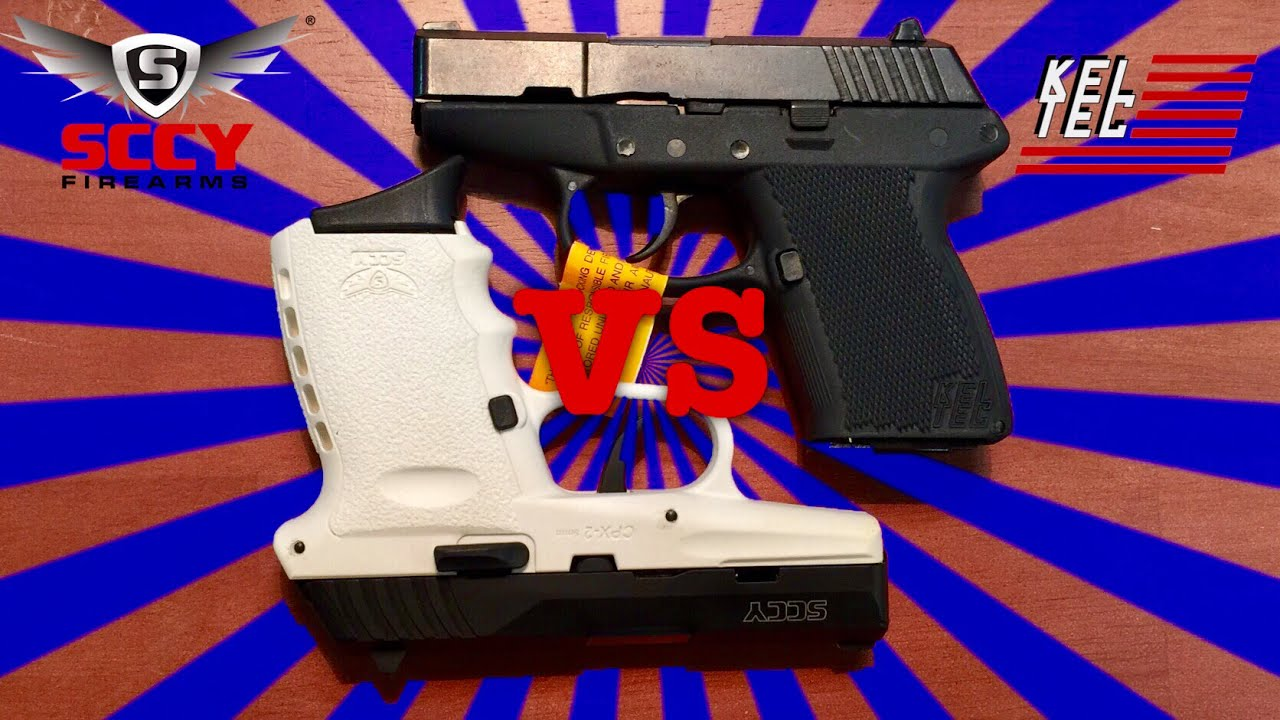 Sccy CPX2 compared with Kel-Tec P11