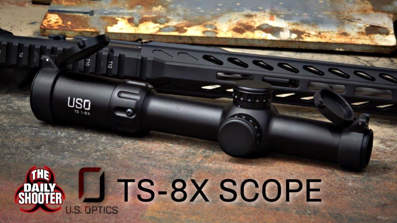 U.S. Optics TS-8X 1-8x24 FFP Optic Review