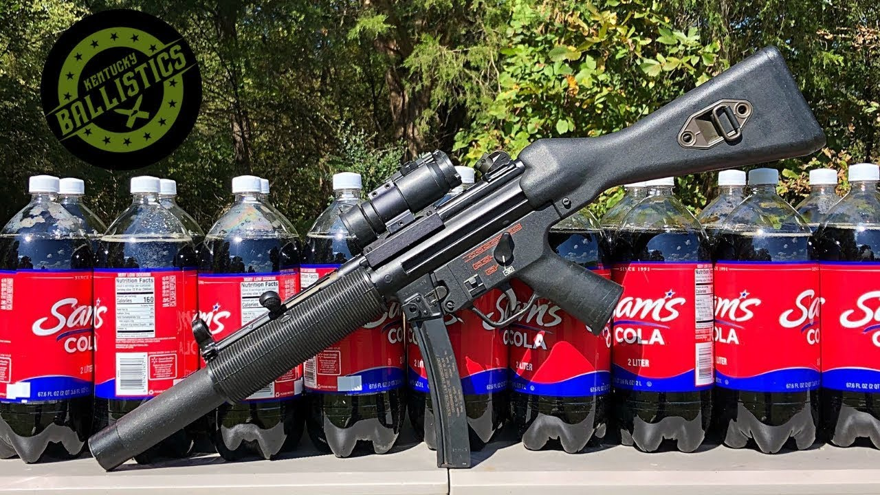 MP5 vs Soda (Full Auto Friday)
