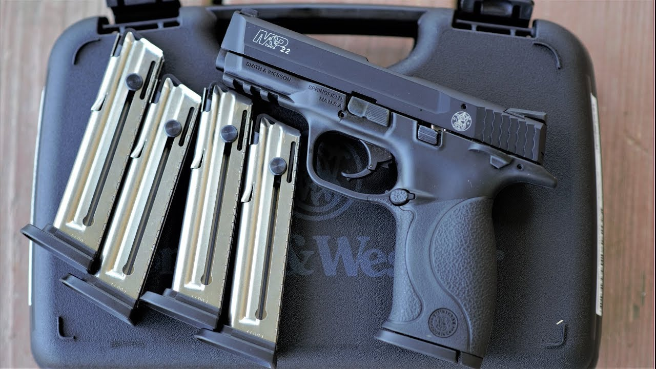 Smith and Wesson M&P 22 - Shoot more!