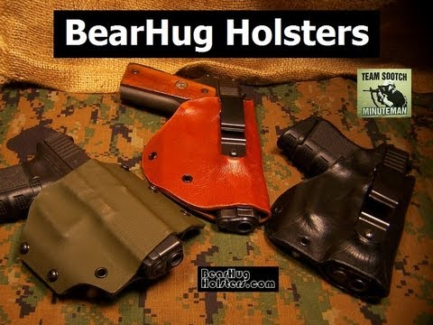 Leather Wrap Kydex Holsters