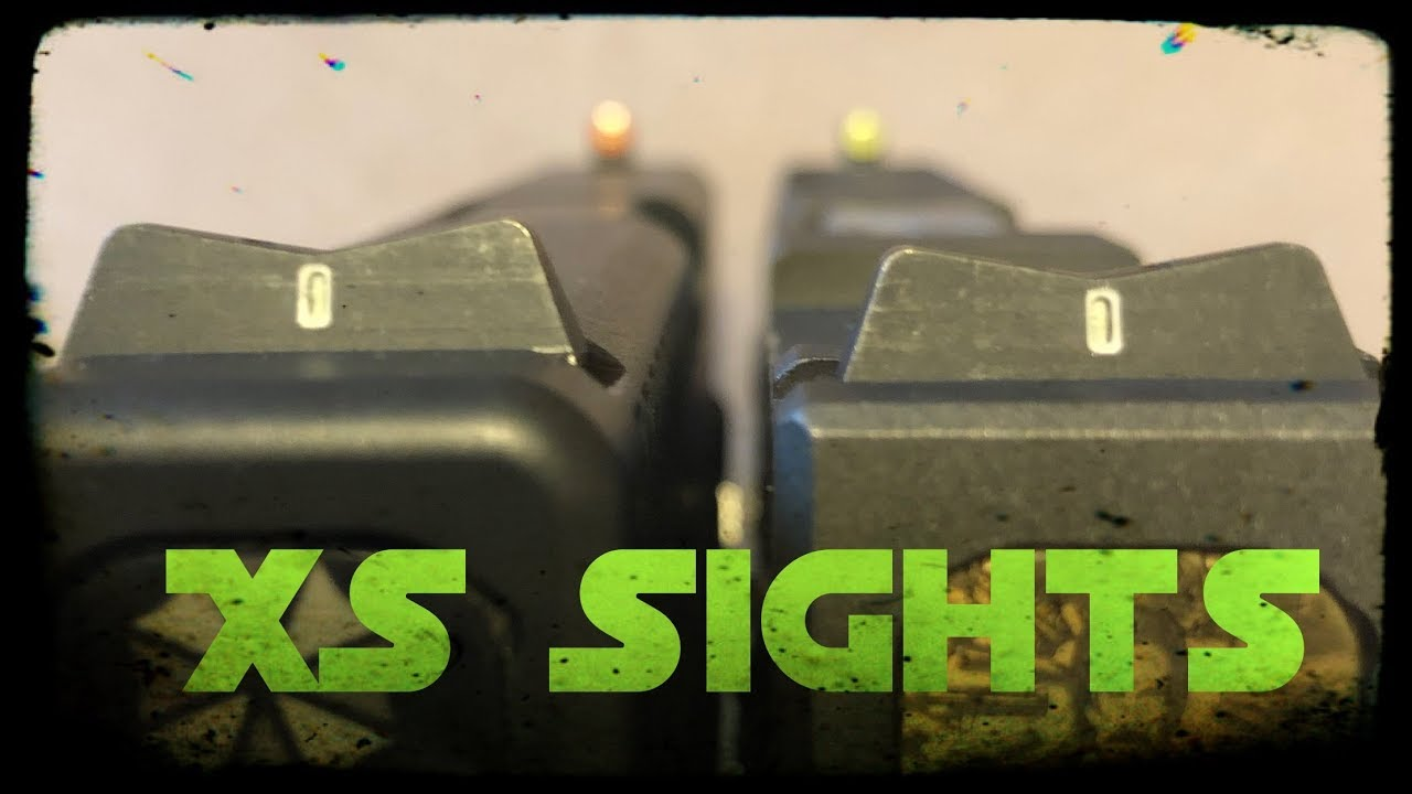 XS SIGHTS | The best night sights?