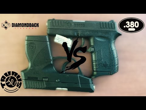 Diamondback DB380 VS Taurus TCP