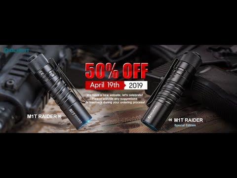 OLIGHT M1T RAIDER PLUS SALE 50% OFF