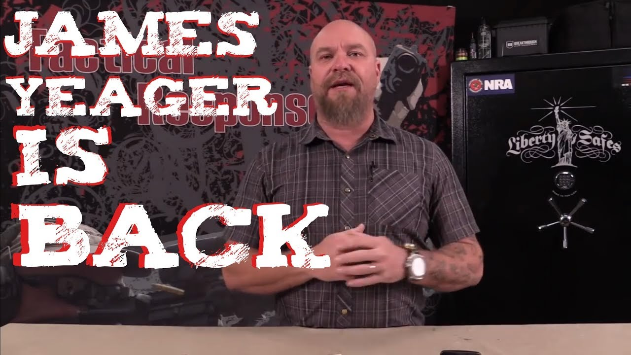 James Yeager is Back!!