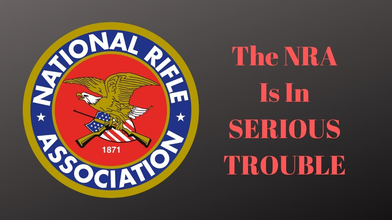 The NRA is in SERIOUS TROUBLE