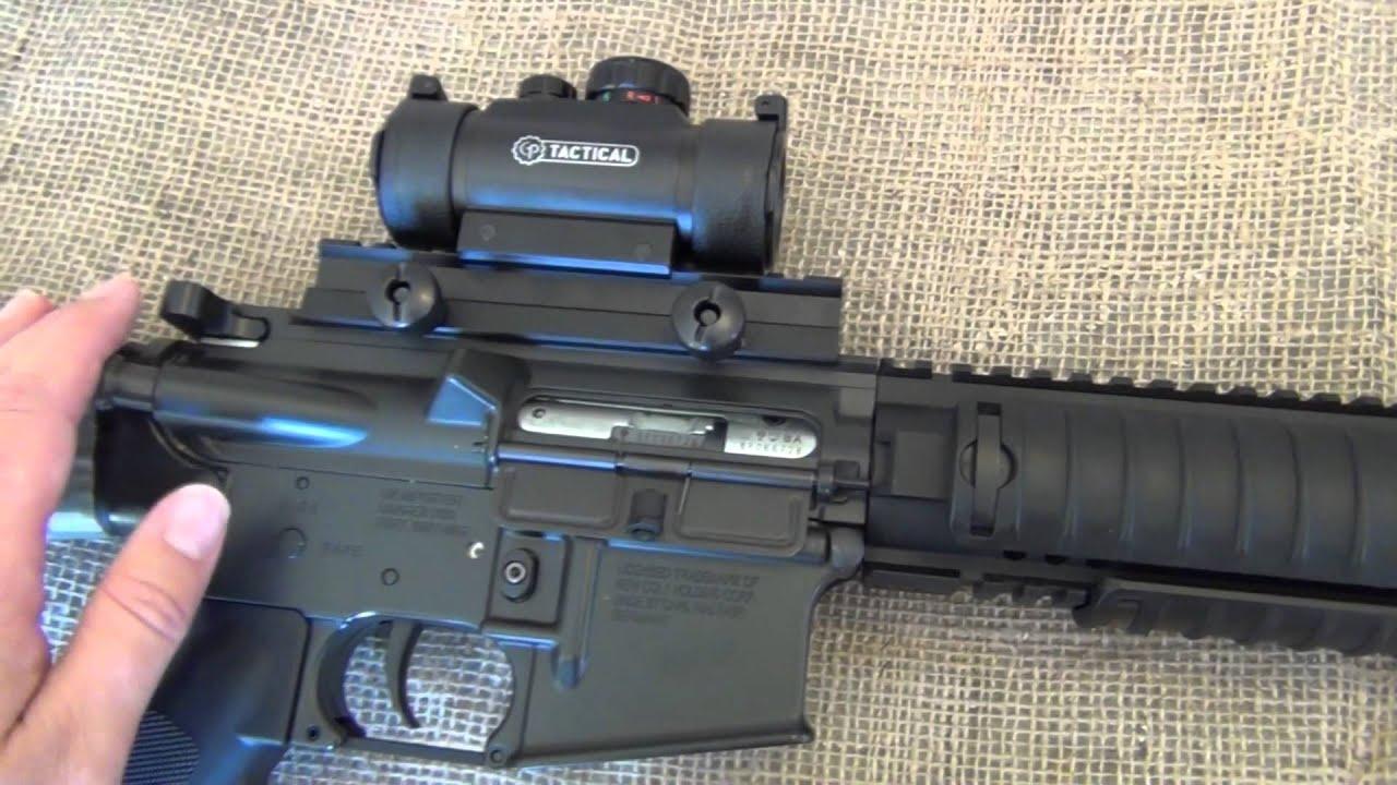 Colt M16 SPR .22 review