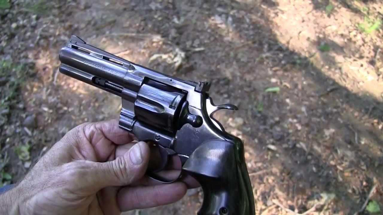 Colt Python ( Close-Up )