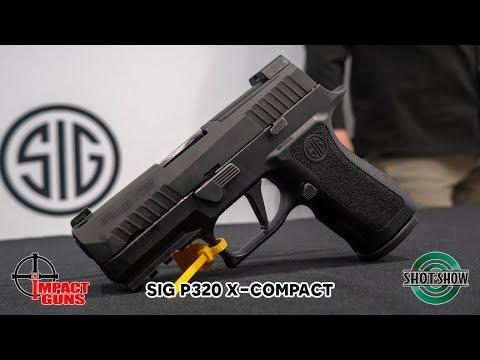 Sig Sauer P320 XCompact - SHOT Show 2019
