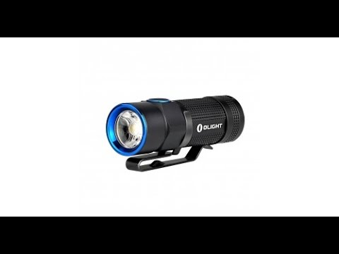 First Look! Olight S1R Flashlight Review-900 Lumens Rechargeable! New for 2016