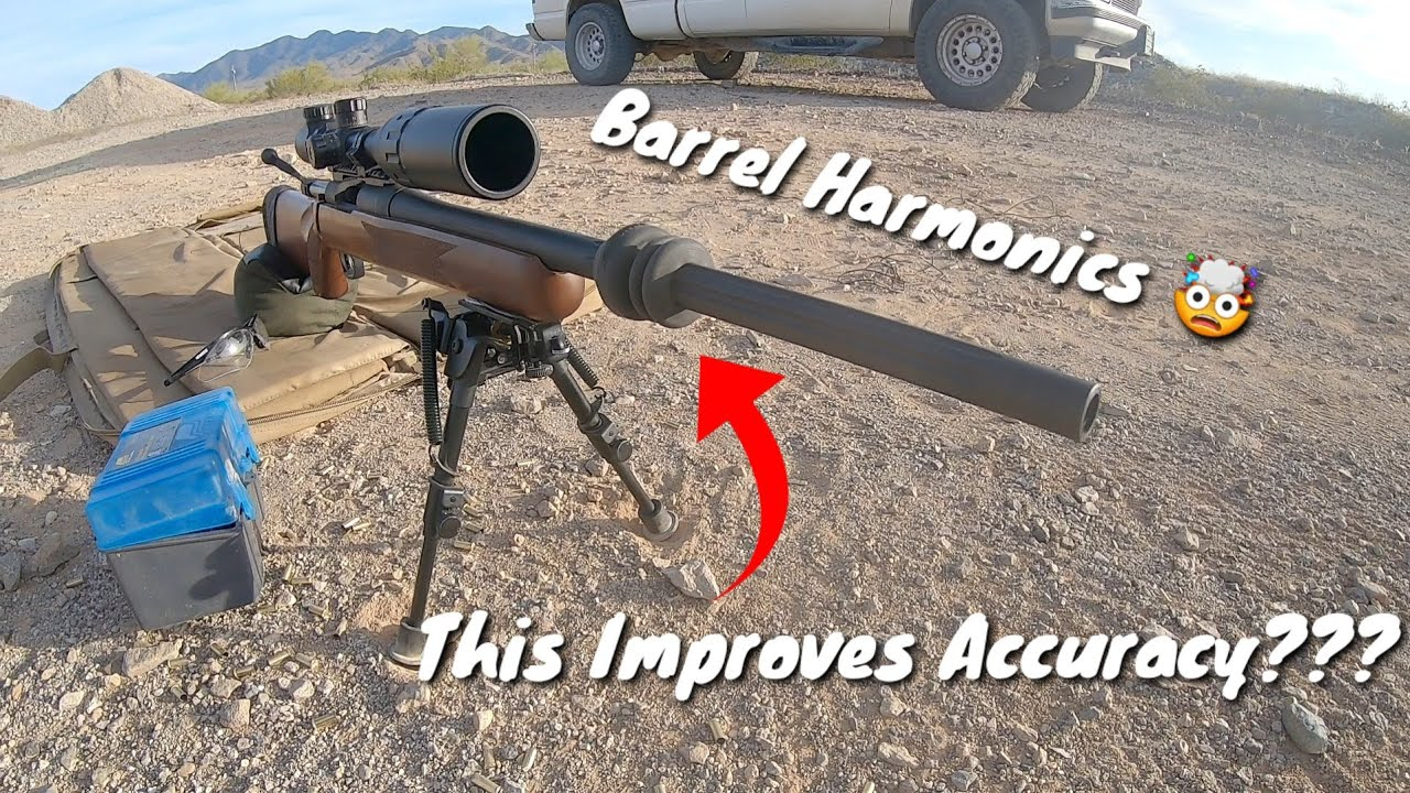 Barrel De-Resonator Harmonics Test - Precision Budget Rifle Build - Mossberg 100ATR .308 Win