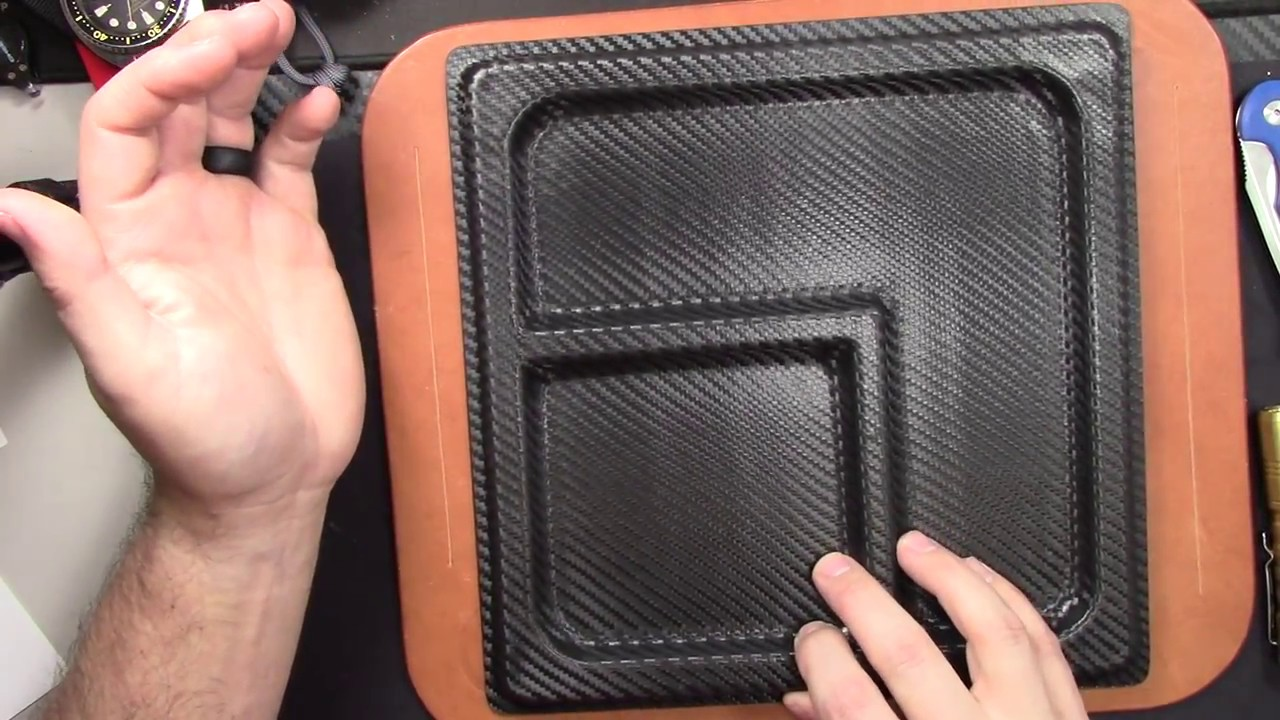 MIE Productions EDC Tray and Olight PL-Mini Holster