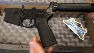 Palmetto State Armory PA15 Magpul MOE Pistol Lower unboxing!