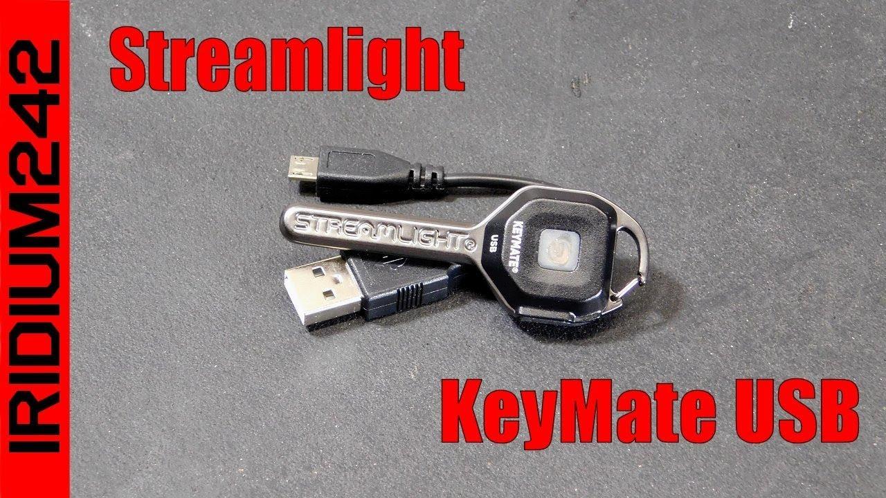 Ultra-Compact Streamlight KeyMate USB Light