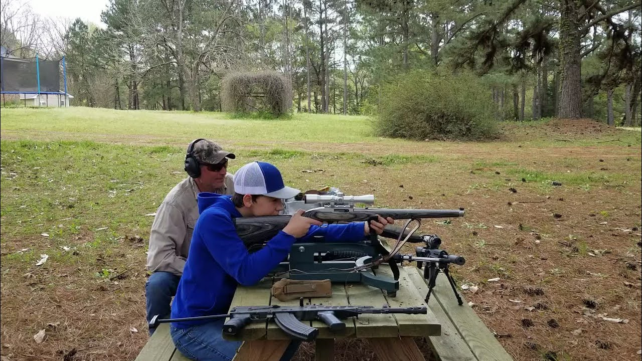 .22 Rimfire fun with Ethan and Cuz.🇺🇸 (My 200th Video)