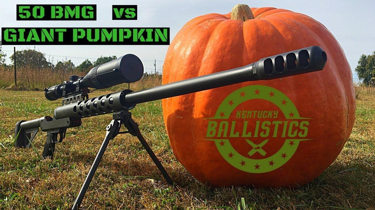 50 BMG vs Giant Pumpkin