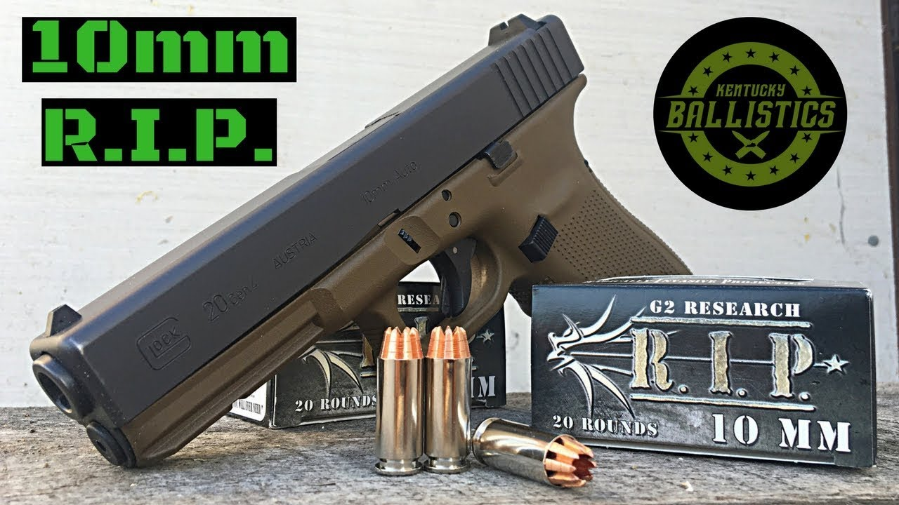 10mm R.I.P. Ammo (G2 Research)