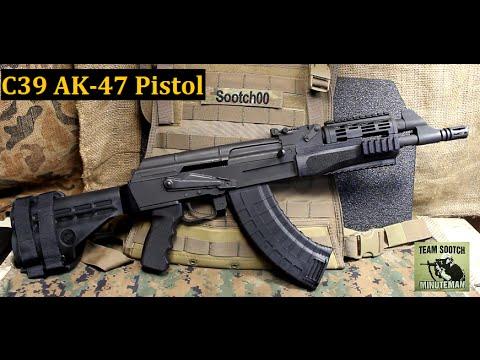 C39 AK 47 Pistol Review