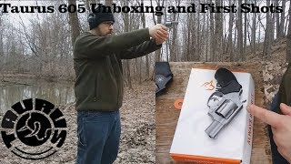 Taurus 605 Unboxing and First Shots