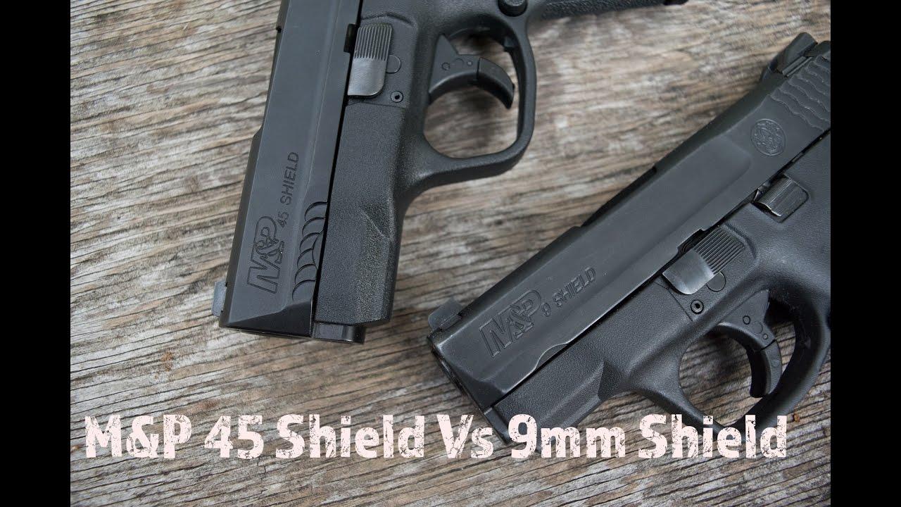 M&P 45 Shield Vs 9mm Shield...Battle For Your Favorite CCW
