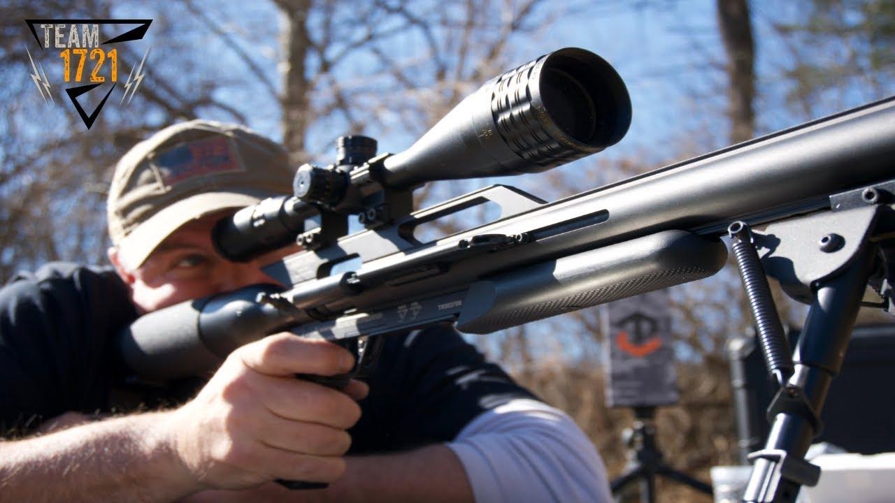 Airforce Airguns Texan .257 Caliber Review